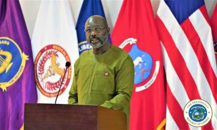 PRESIDENT WEAH APPLAUDS NATIONAL ARMY; VOWS EXTRA SUPPORT