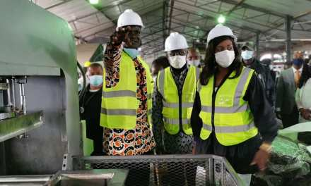 President Weah Dedicate Modern Rubber Processing Factory in Cocopa, Nimba
