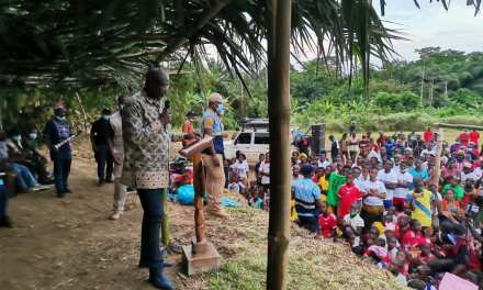 PRESIDENT WEAH ASSURES GBI AND DORU RESIDENTS OF MASSIVE DEVELOPMENT