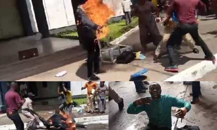 Aggrieved Judicial Worker Set Self Ablaze at Temple of Justice