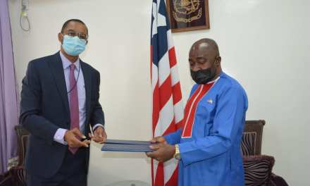 UNDP Representative Guarantees Robust Programs for Liberia