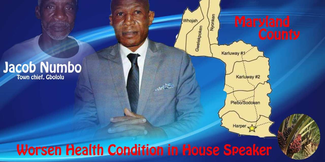 Maryland: Worsen Health Condition in House Speaker Bhofal Chambers' District