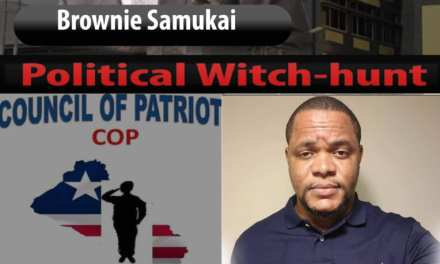 'Political Witch-hunt', Henry Costa Labels Brownie Samukai's Guilty Verdict