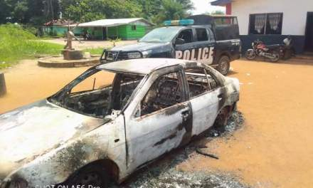 Margibi: One Reported Dead in Clash Over Food Distribution, Police Commander Vehicle Set Ablaze