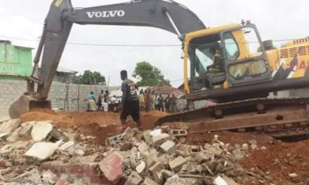 GoL Commences Demolition on Ganta-Saclepea Road Ahead of Construction