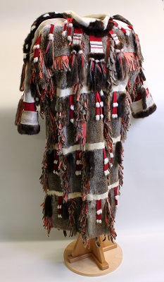 Ground squirrel parka made by Susan Malutin and Grace Harrod, 1999. Courtesy the Alutiiq Museum