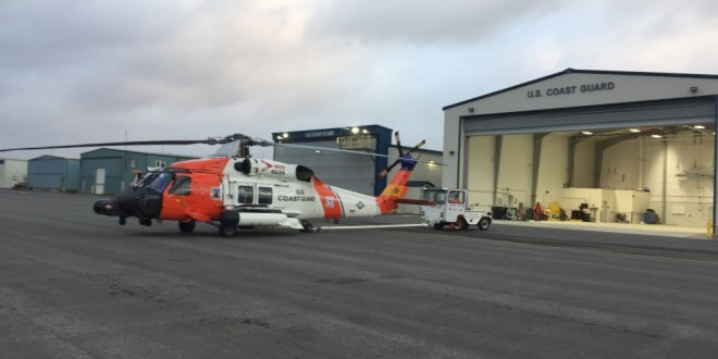 Coast Guard medevacs fisherman 60 miles northeast of Cold Bay