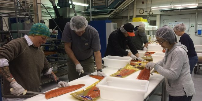 People From Across the Country Travel to Kodiak to Learn How to Smoke Fish