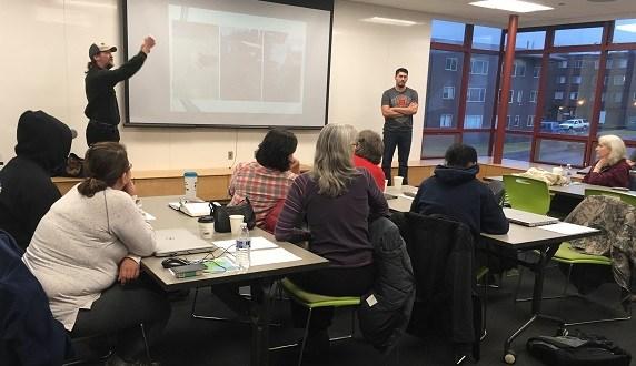 Kodiak communities present on hoop house initiative