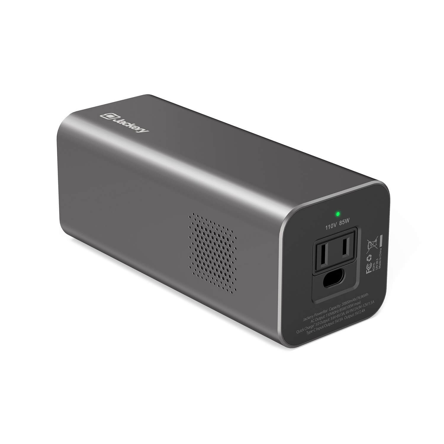 Review of the Jackery PowerBar 77Wh/20800mAh 85W