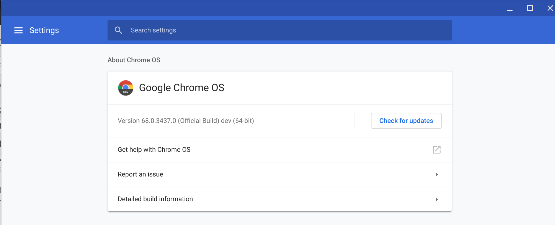 ChromeOS 68.0.3437.0 Brings Shared Clipboards and The Ability To Access Linux Filesystems To The ChromeOS File Manager