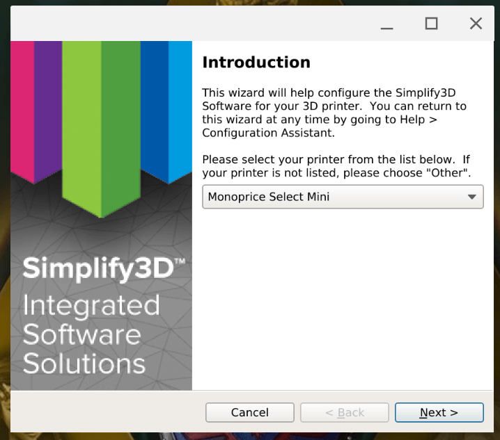 Installing Simplify3D on Chrome OS with Project Crostini