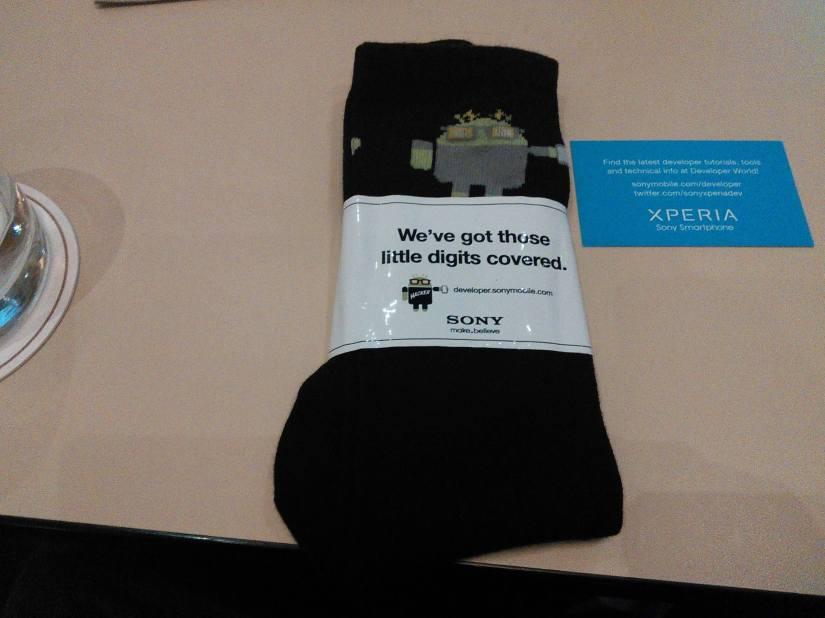 Hey Look... Sony OpenSourced their Foot Warmth Technology at #xdadevcon13   #sonymobile #sonyxperiadev #xperiadev