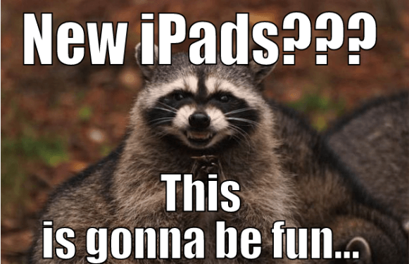 I cant wait until Apple Announces the new iPads today... so I can show what I have been cooking up.