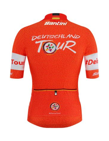 SANTINI_Deutschland Tour2018_leader-jersey_red_rear