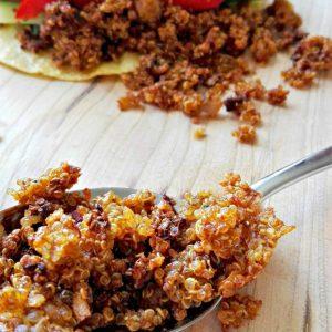 Tacofyld med quinoa