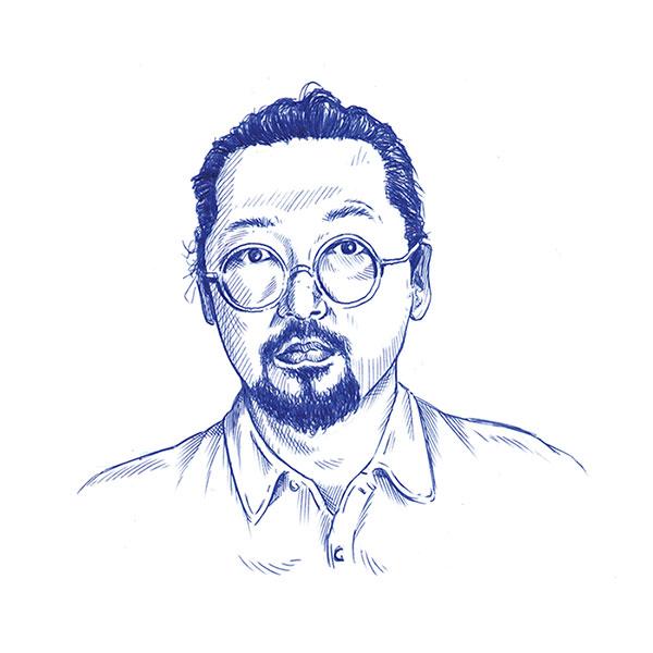 Portrait-Zeichnung