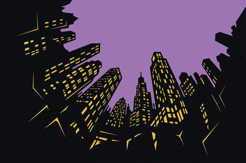 Vektor-Illustration-Skyline