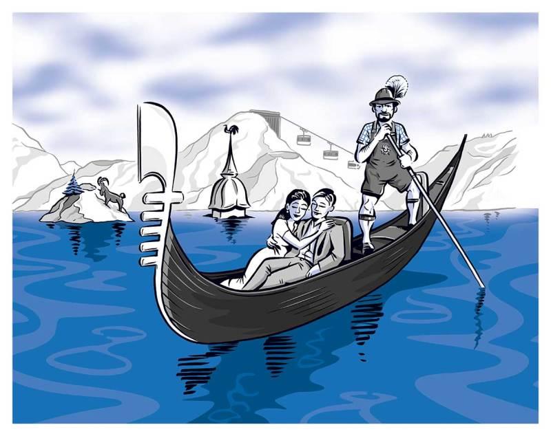 satirische-illustration-bayern