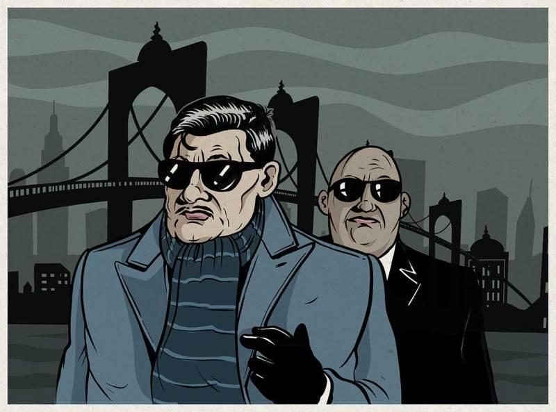 Comic-Illustration-Mafia