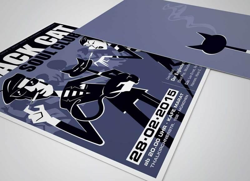 Flyer Illustrator München