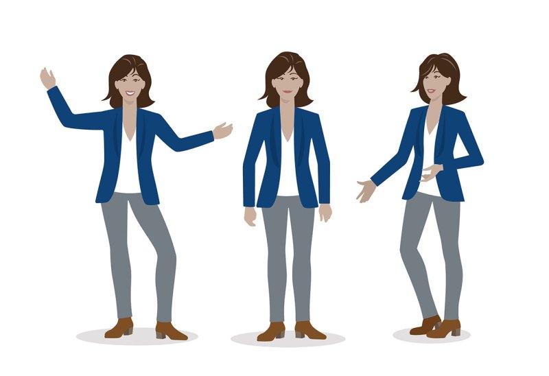 Character Illustration und Animation