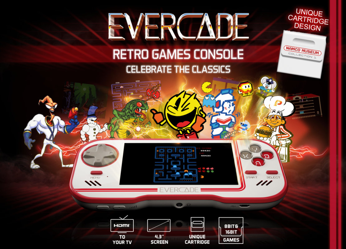 Evercade pre-orders are now open!