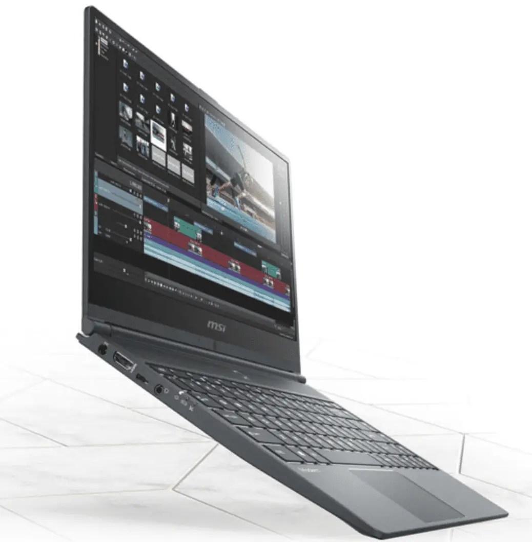 MSI announces new laptops for content creators