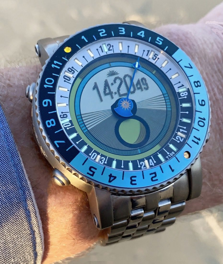 """You say you want a more complex """"digital"""" watch?  Then the YES Watch has you covered"""