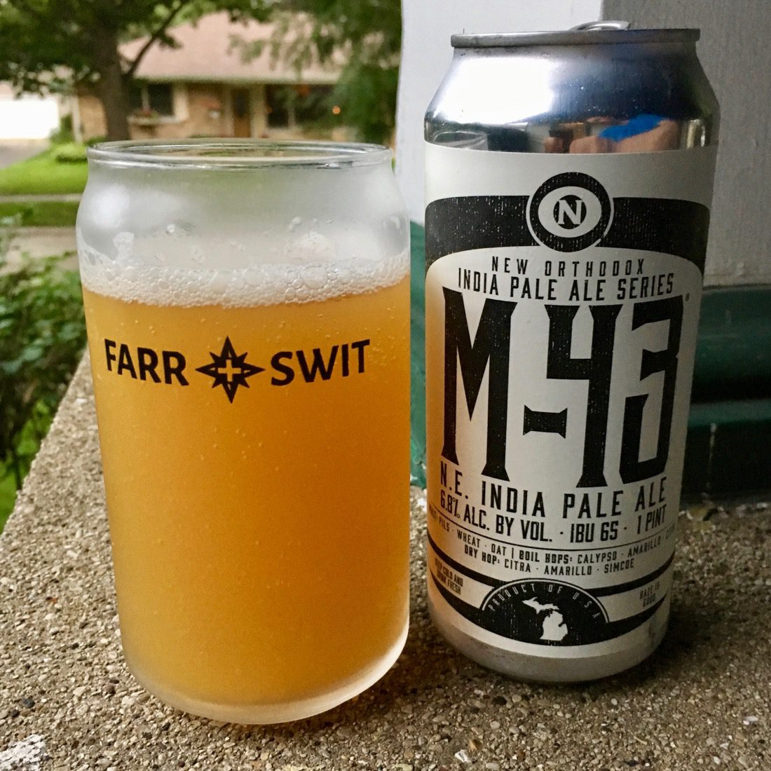 Afternoon Beer Break:  Old Nation M-43 IPA