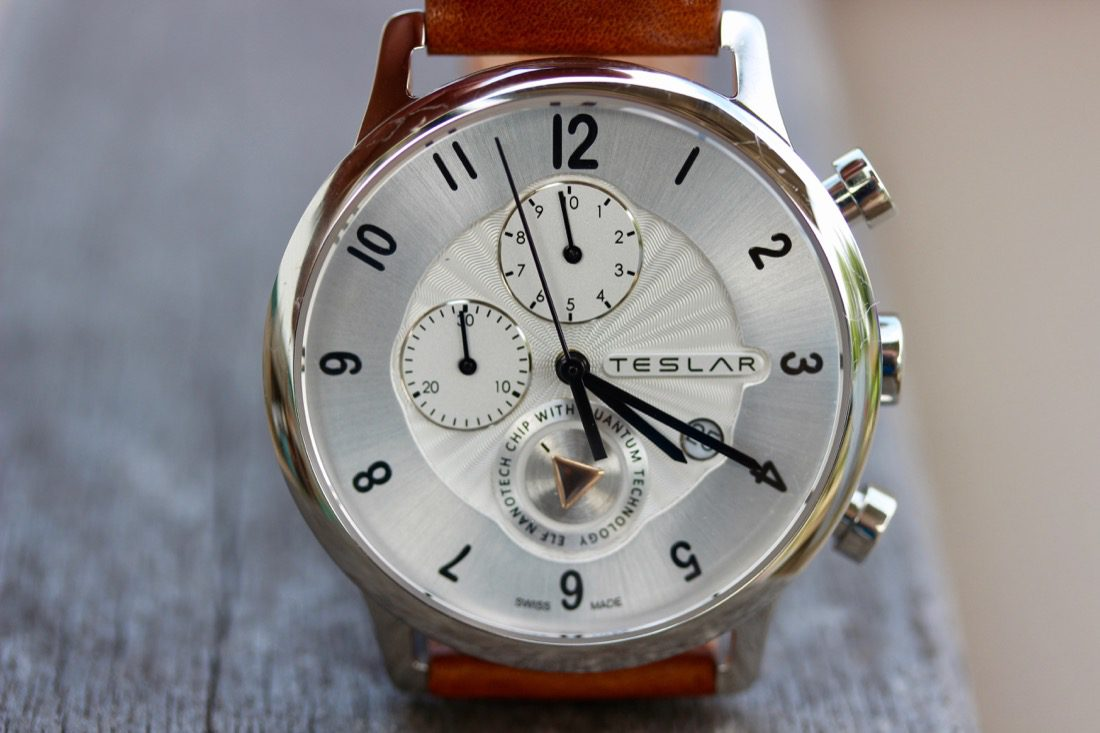 Timing frequencies with the Teslar Rebalance T1 Chronograph