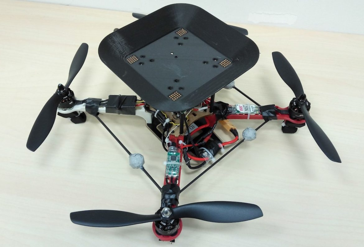 A drone in flight forever… with in-flight battery changes