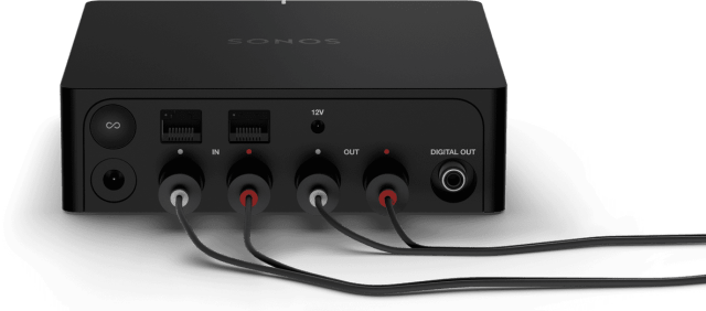 sonos port with cords
