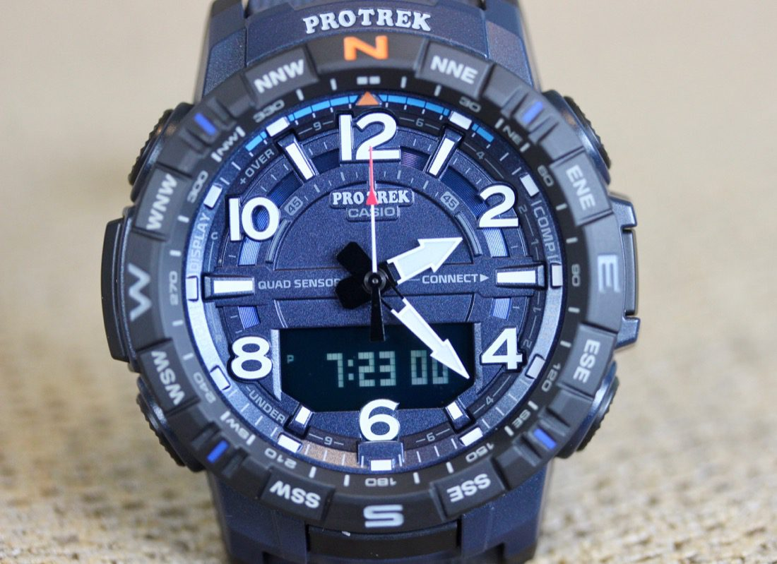 Taking steps with the Casio ProTrek PRT-B50-4
