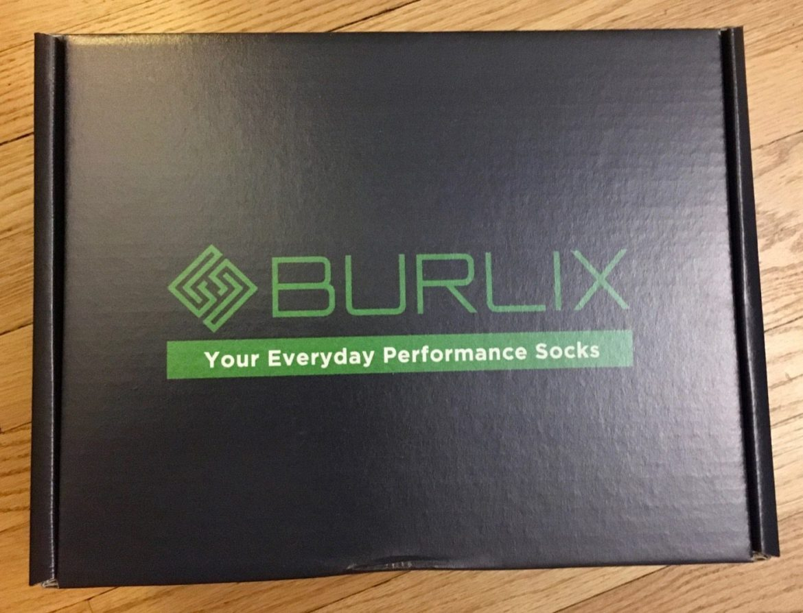 It's tech for your feet – in the form of Burlix socks