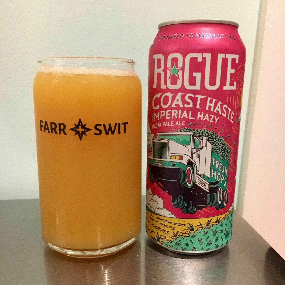 Afternoon Beer Break:  Rogue Coast Haste