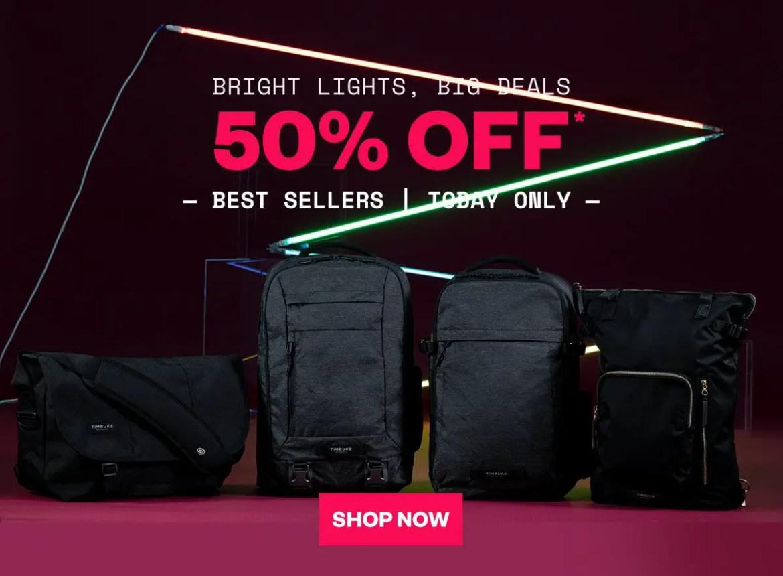Pick up a great bag from Timbuk2 at 50% off