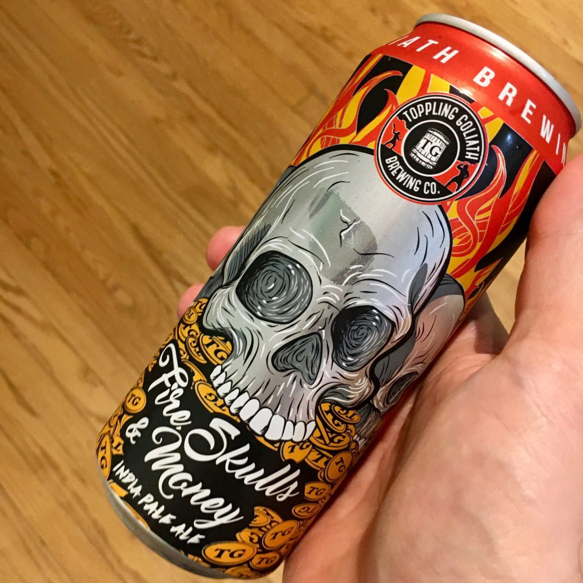 Afternoon Beer Break:  Toppling Goliath Fire, Skulls & Money