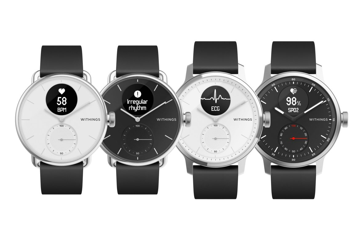 The Withings Scanwatch can detect sleep apnea