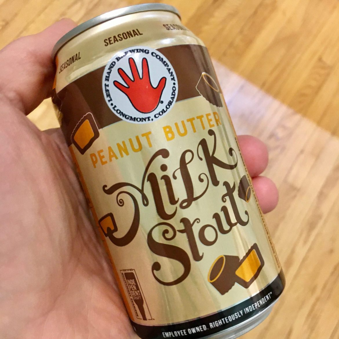 Afternoon Beer Break:  Left Hand Peanut Butter Milk Stout