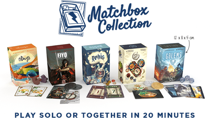 The Matchbox Collection is a set of amazingly compact board games