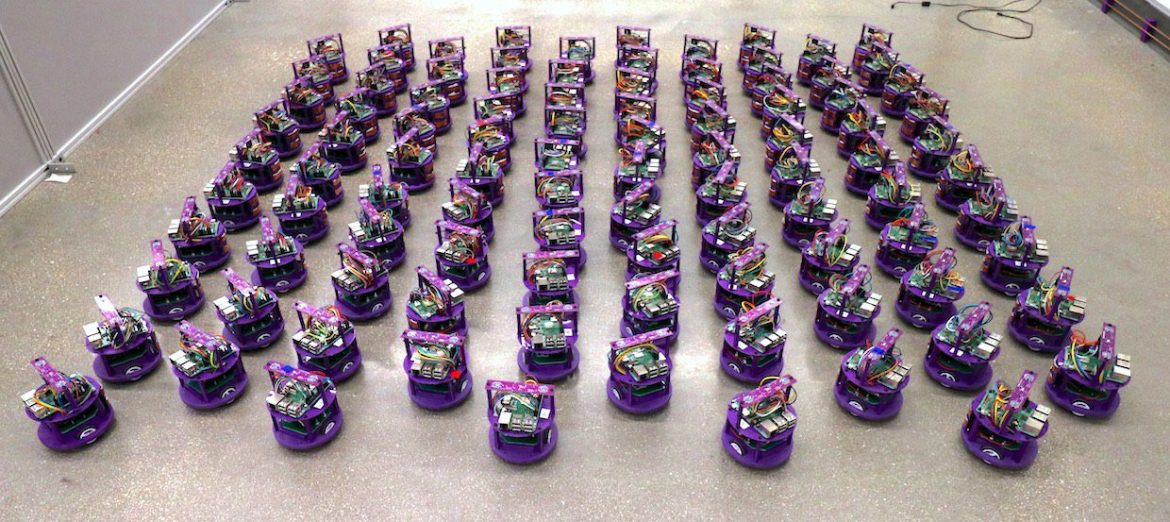 Swarms of self-organizing robots – nothing could go wrong, could it?