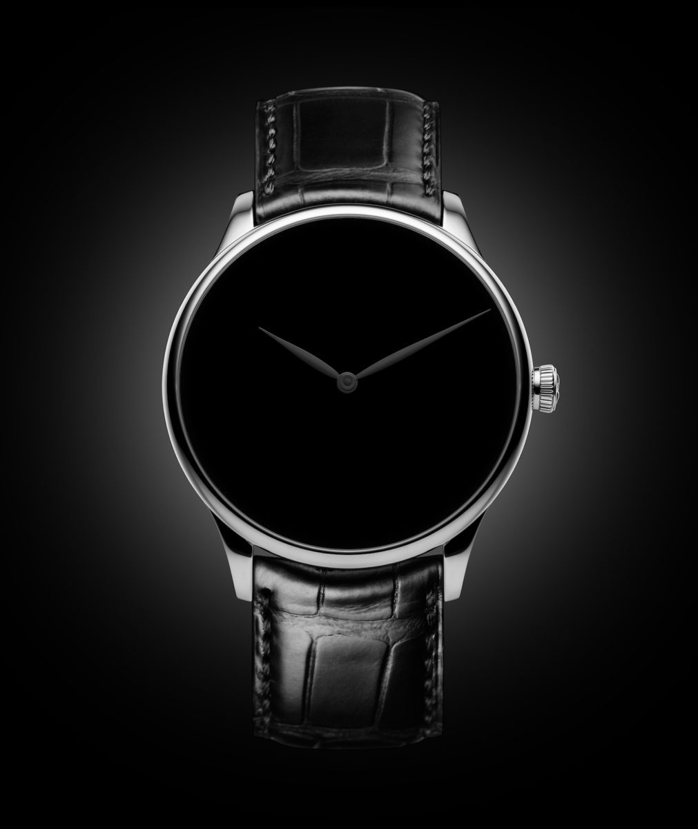 How much more black can H. Moser & Cie. get? None more black