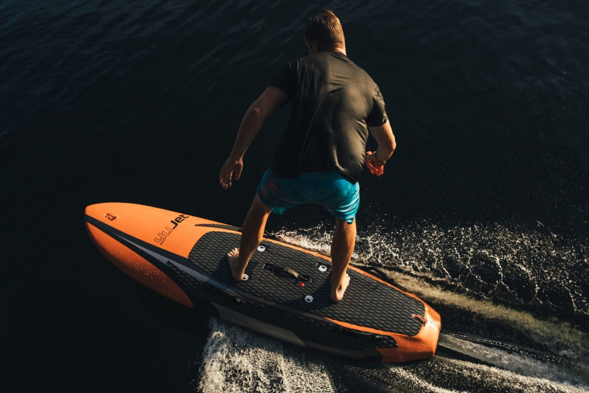 Catch some waves with the YuJet Surfer Electric Jetboard