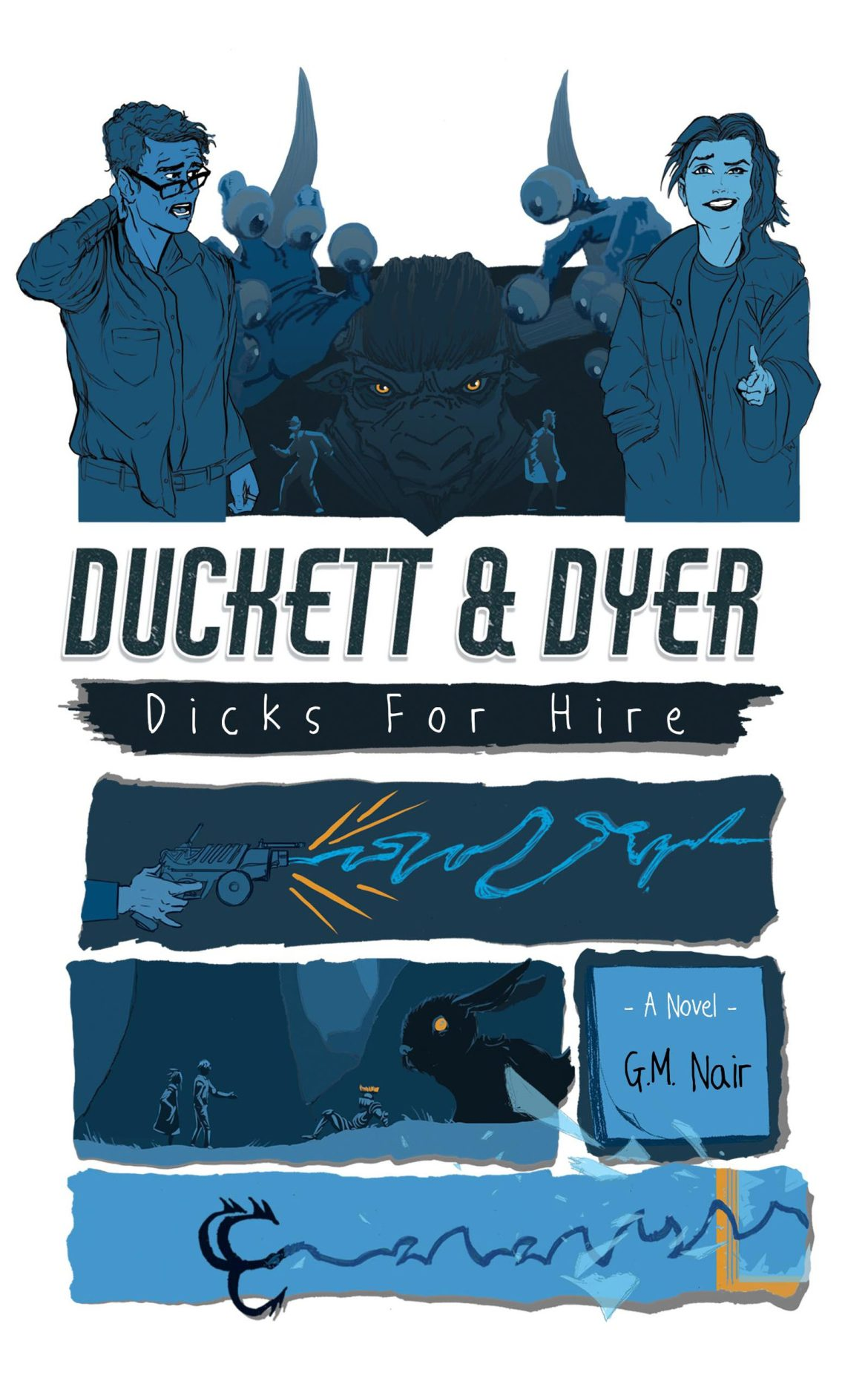Storytellers on Tour – Duckett & Dyer: Dicks for Hire