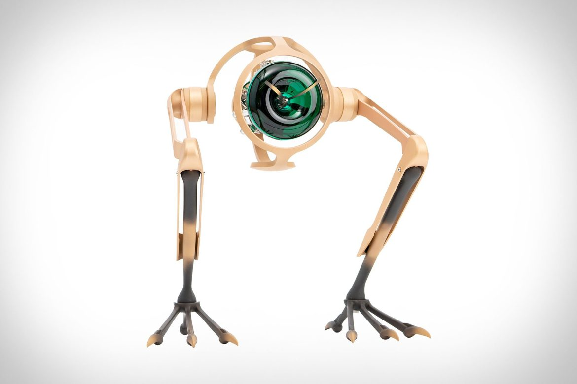 MB&F makes a T-Rex clock