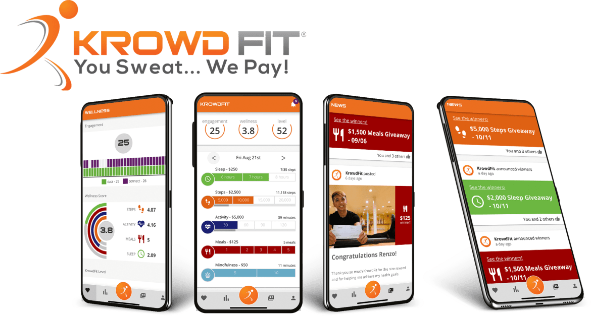 Trade your health and wellness data for a chance at cash with KrowdFit