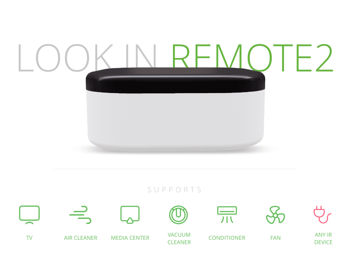 Keep cool with the LOOK.in Remote 2 smart AC controller