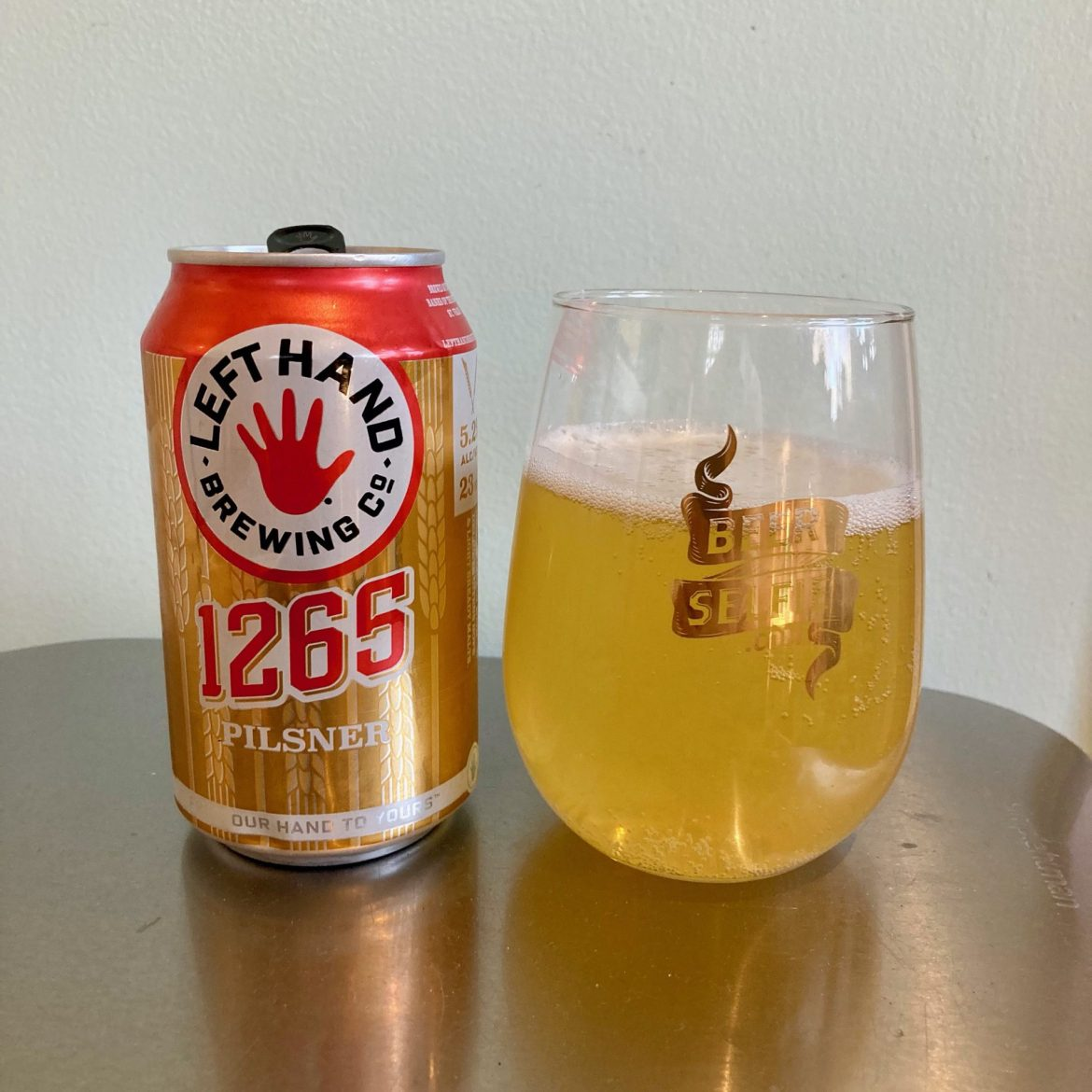 Afternoon Beer Break: Left Hand Brewing 1265