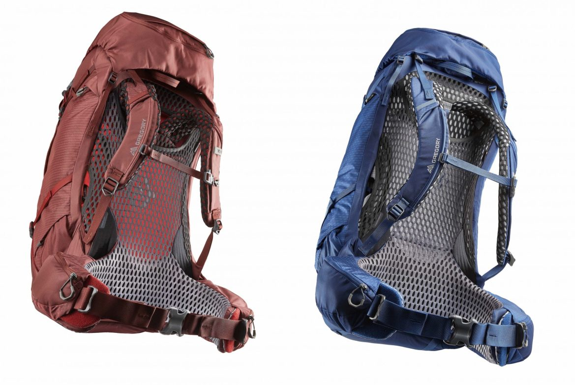 New packs from Gregory Packs help keep the stink at bay